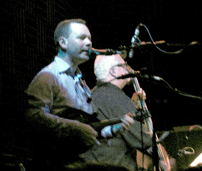Eamonn O'Rourke and Dave Roe
