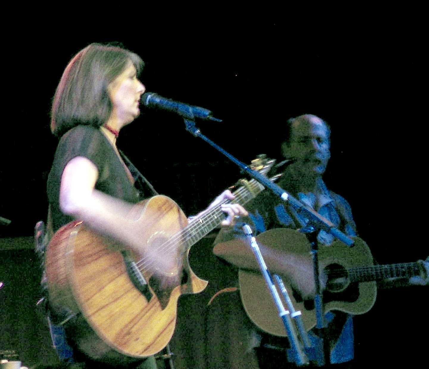 Kathy Mattea and Bill Cooley