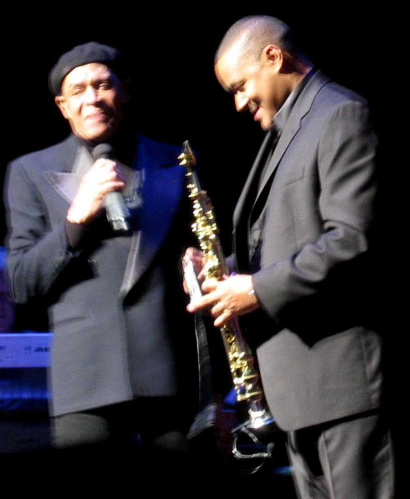 Al Jarreau and Najee