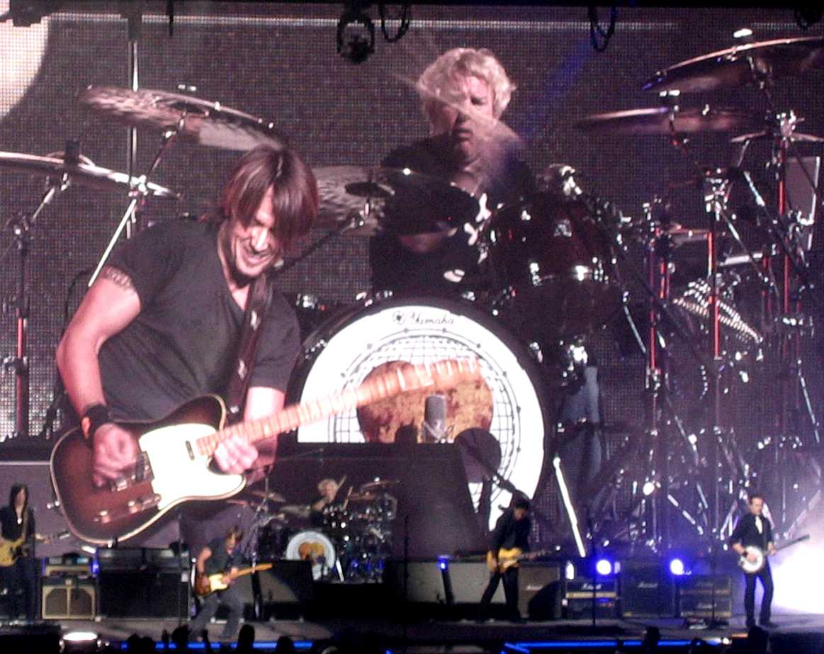 Keith Urban with Chris McHugh