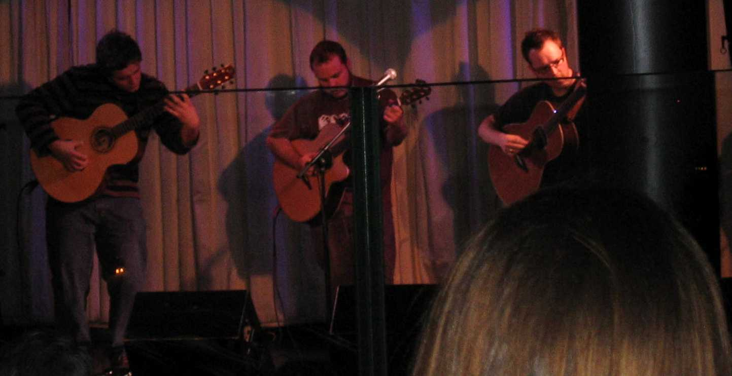 Andy McKee with Antoine Dufour and Craig D'Andrea