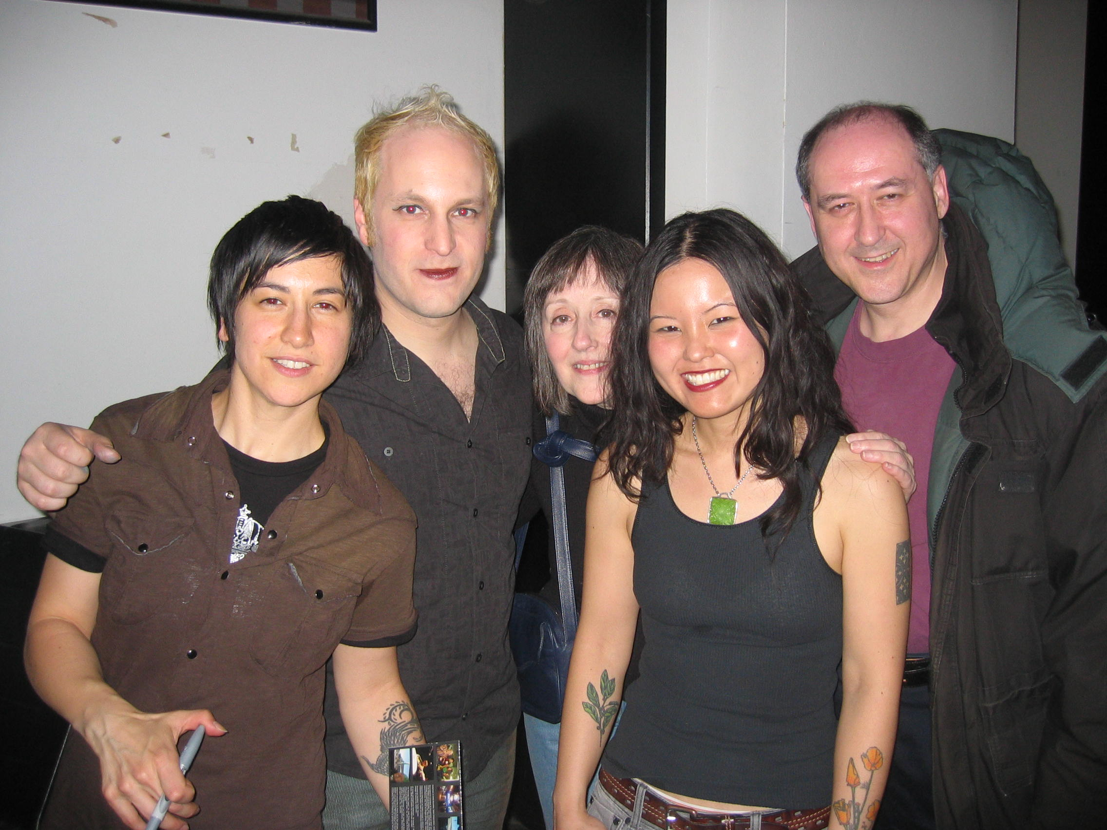 Girlyman, Lois and Hadar