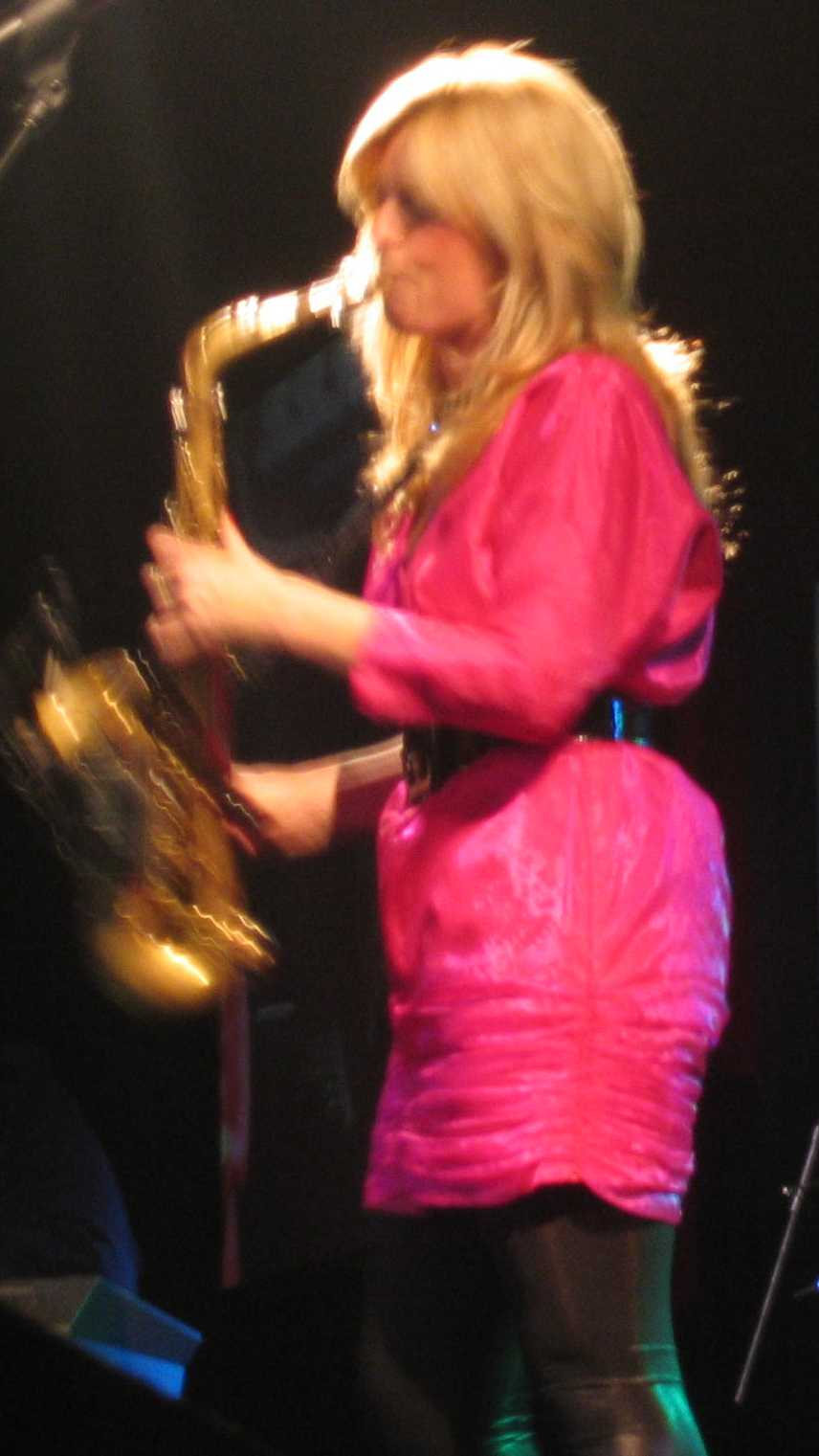 Candy Dulfer on the Sax