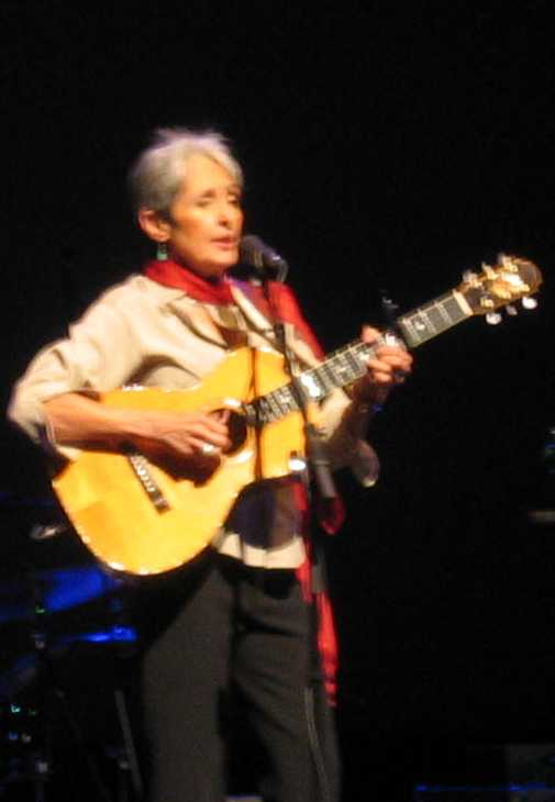 Joan Baez Guitar 2