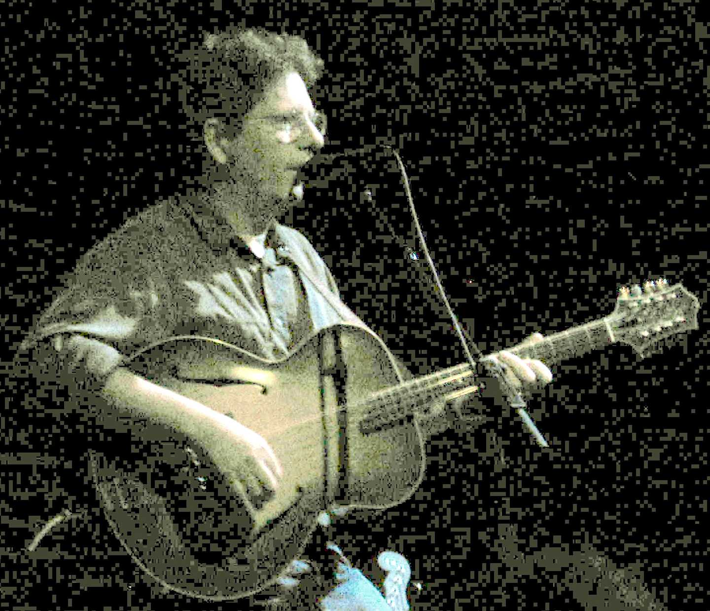 Tim O\'Brien on Bouzouki