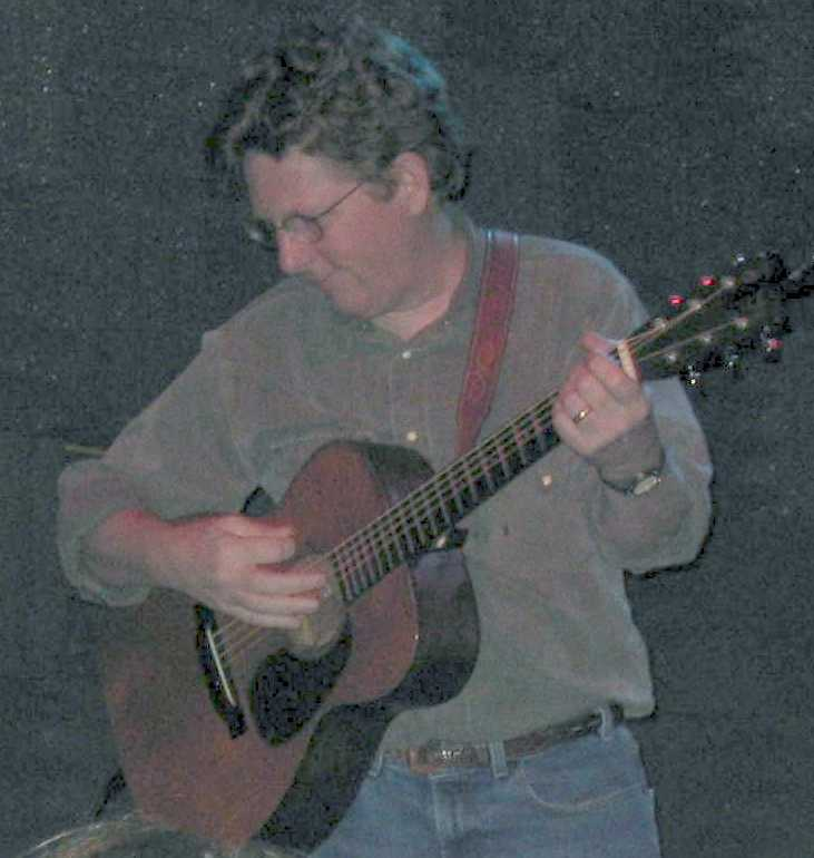 Tim O\'Brien on Guitar