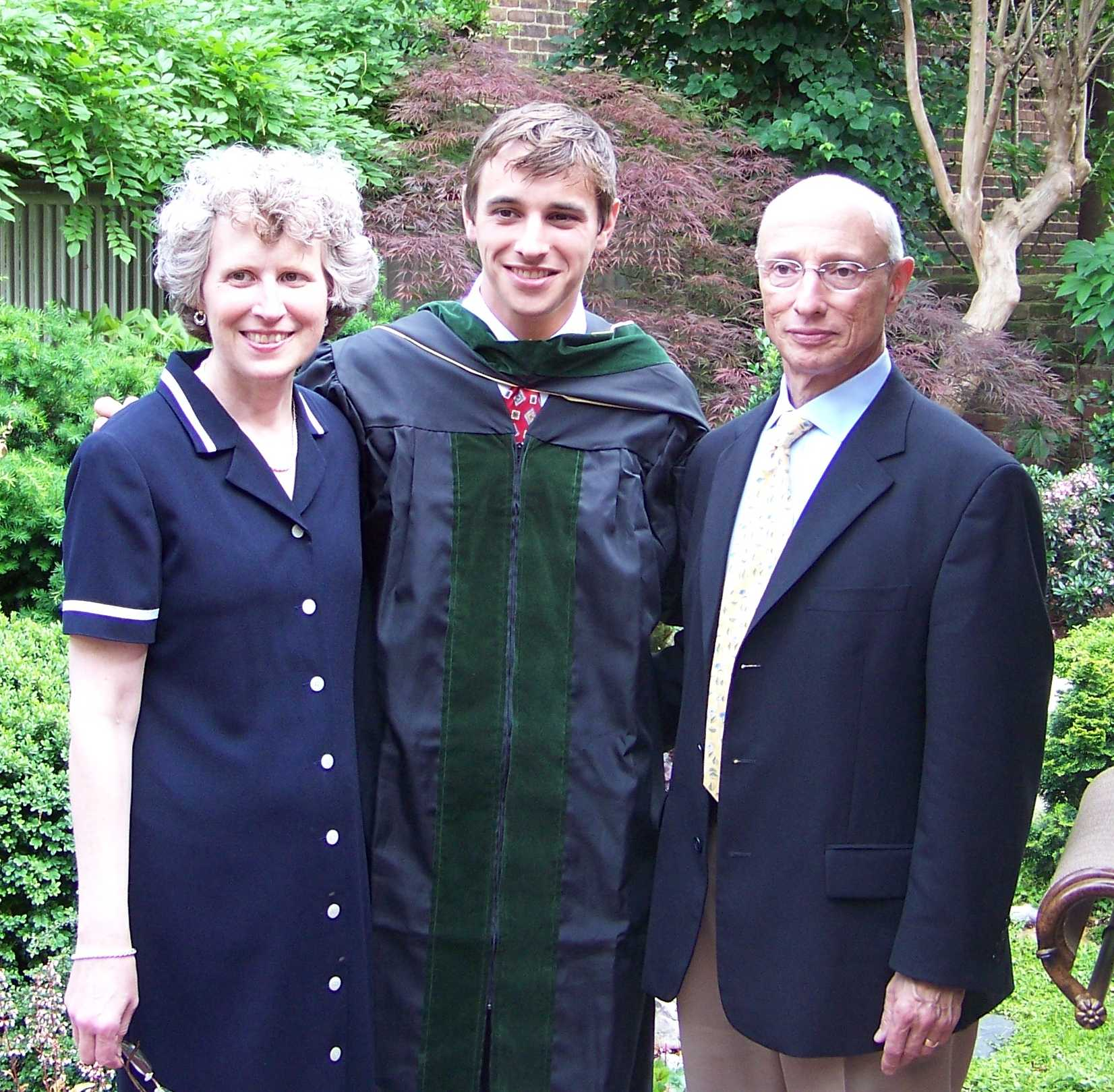 David and Parents