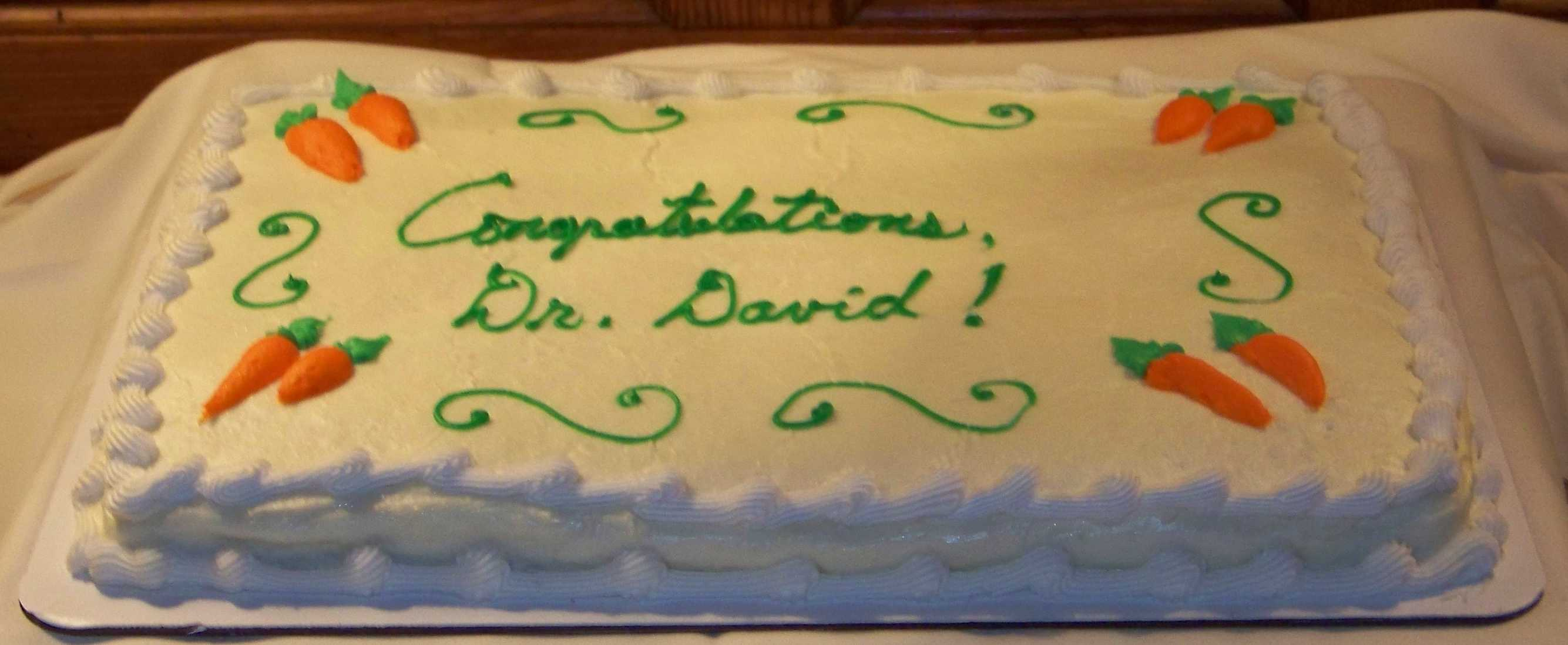 Dr. Dave Cake