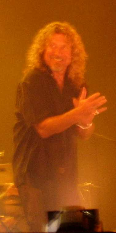 Robert Plant Clapping