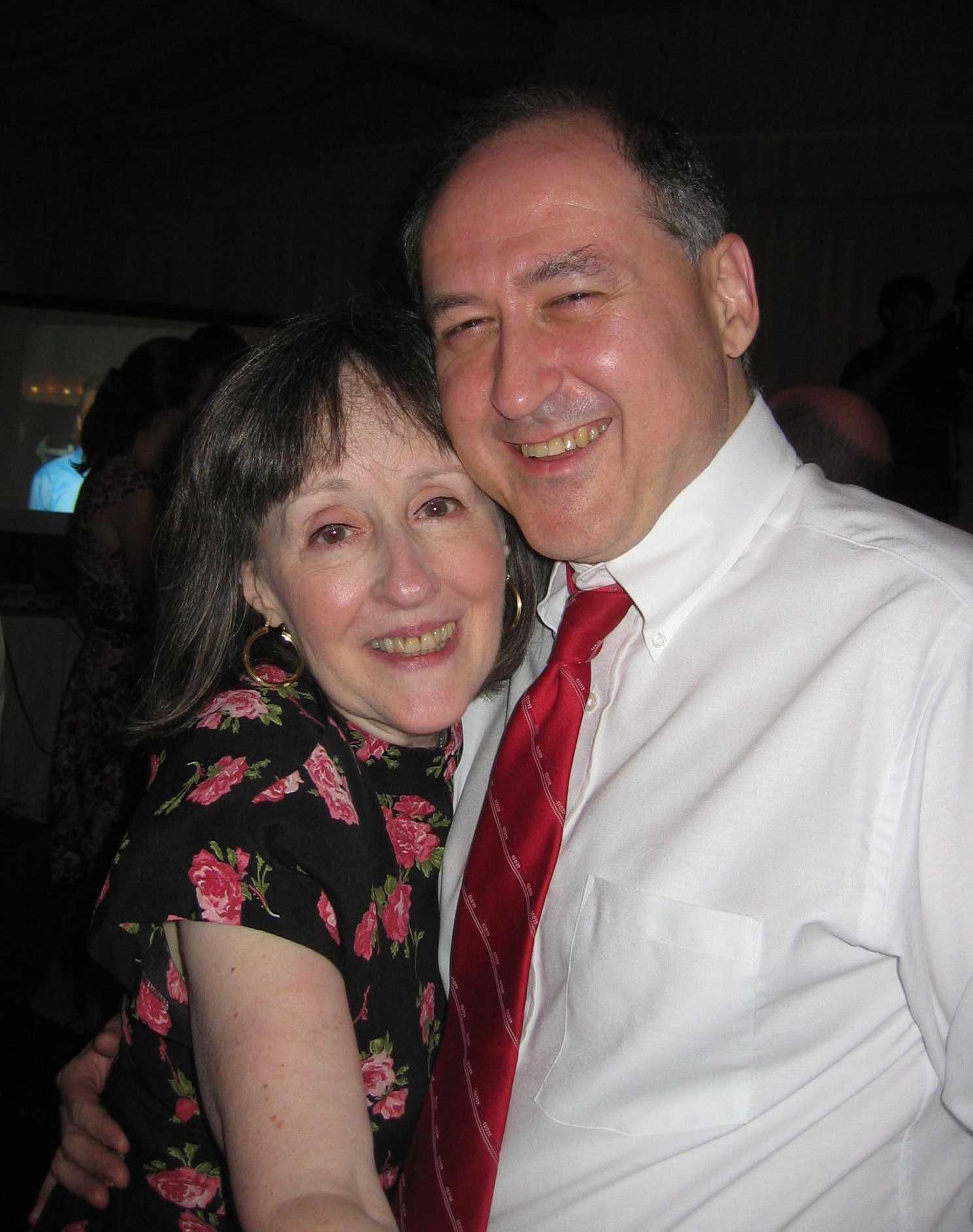 Lois and Hadar Dancing