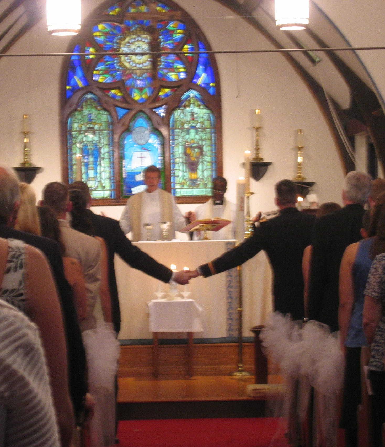 Hand Holding Prayer