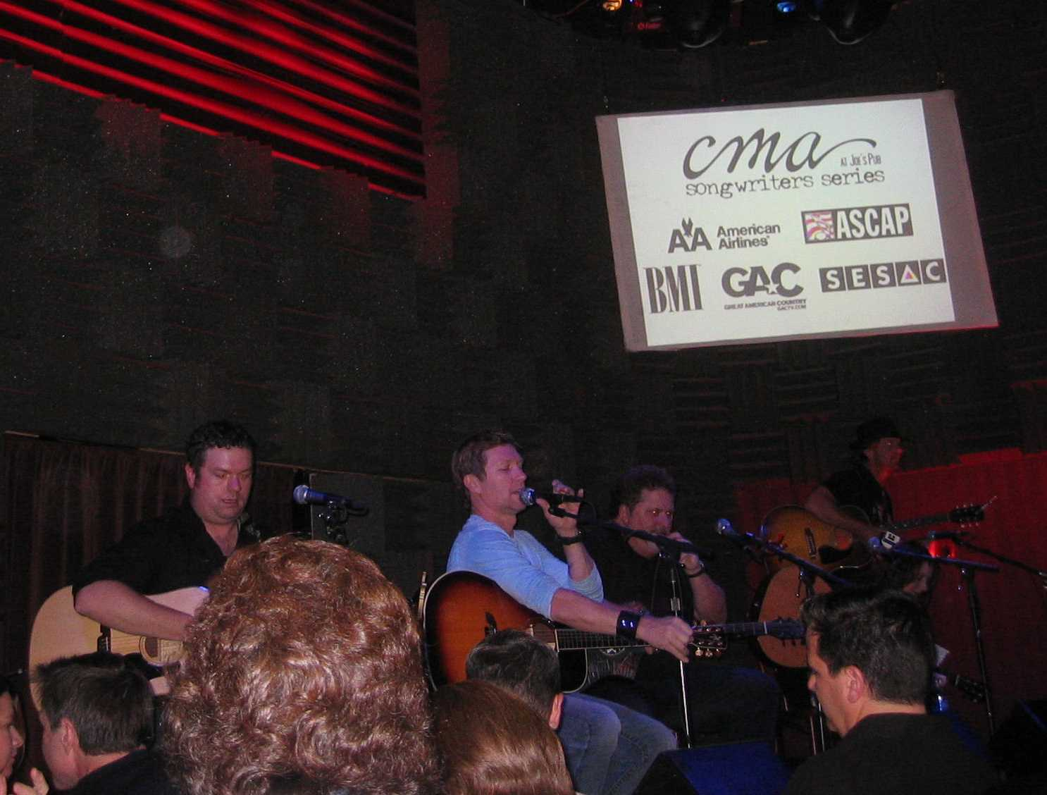 CMA Song Writers 20081029