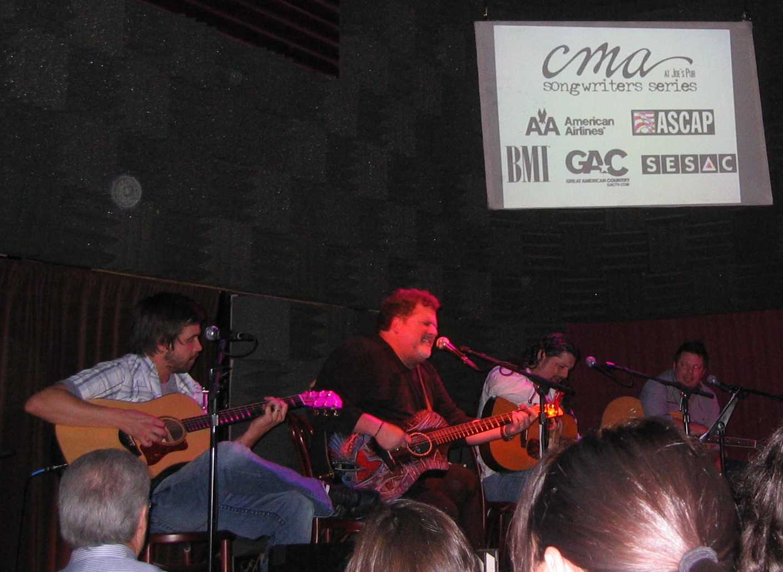CMA Writers Series 20081030