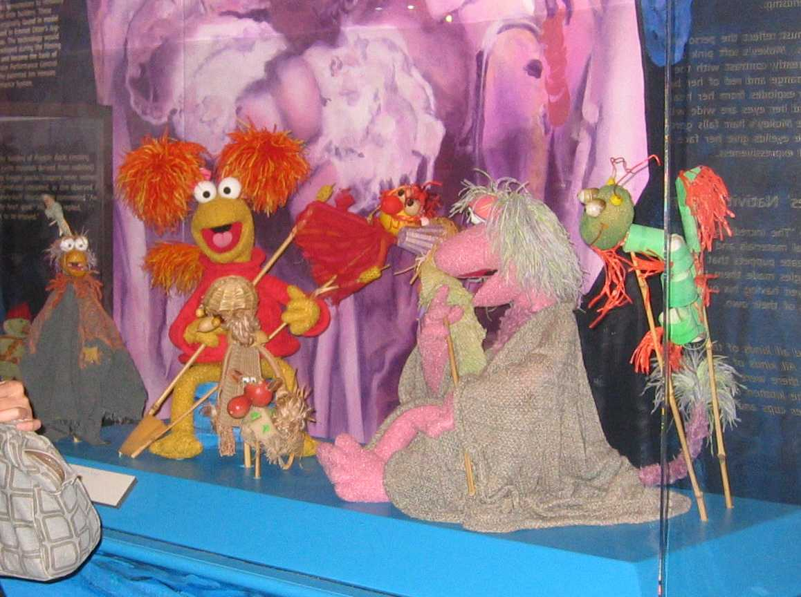 Fraggle Rock Puppets