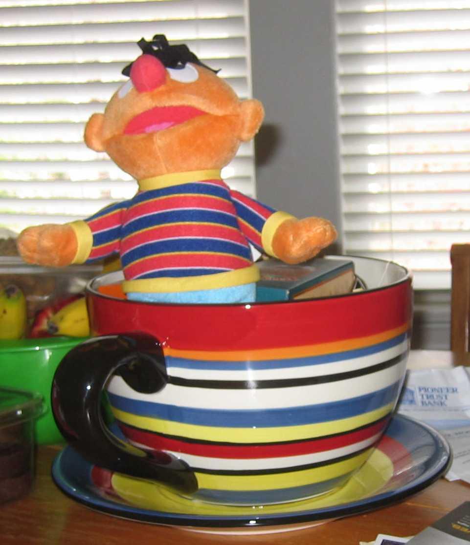 Ernie Tea Cup