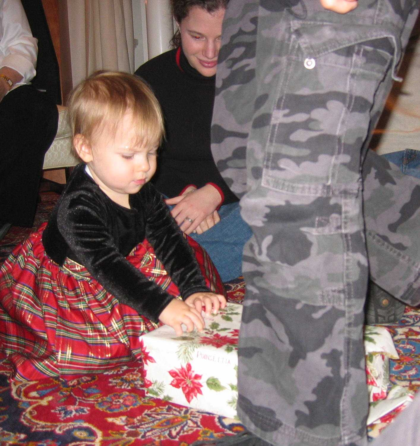 Ripping Open Gifts