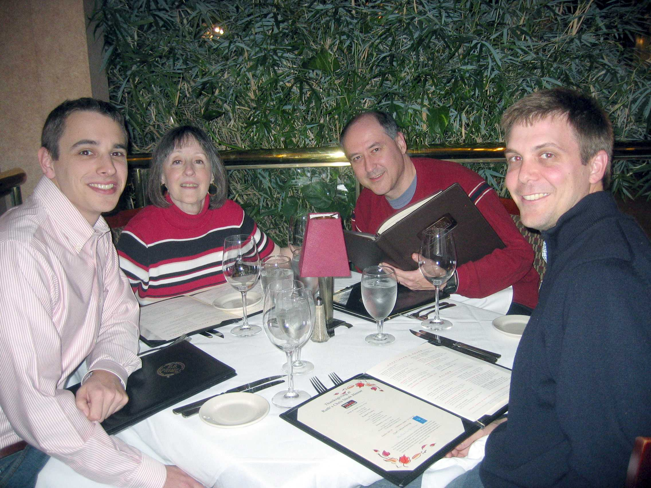Ruth's Chris Thanksgiving