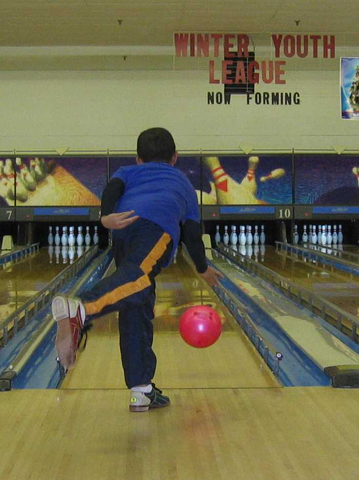 10-year-old Bowling