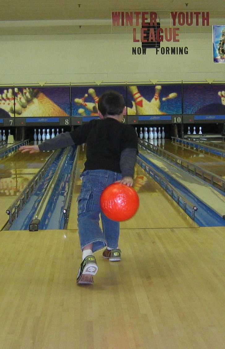 8-year-old Bowling
