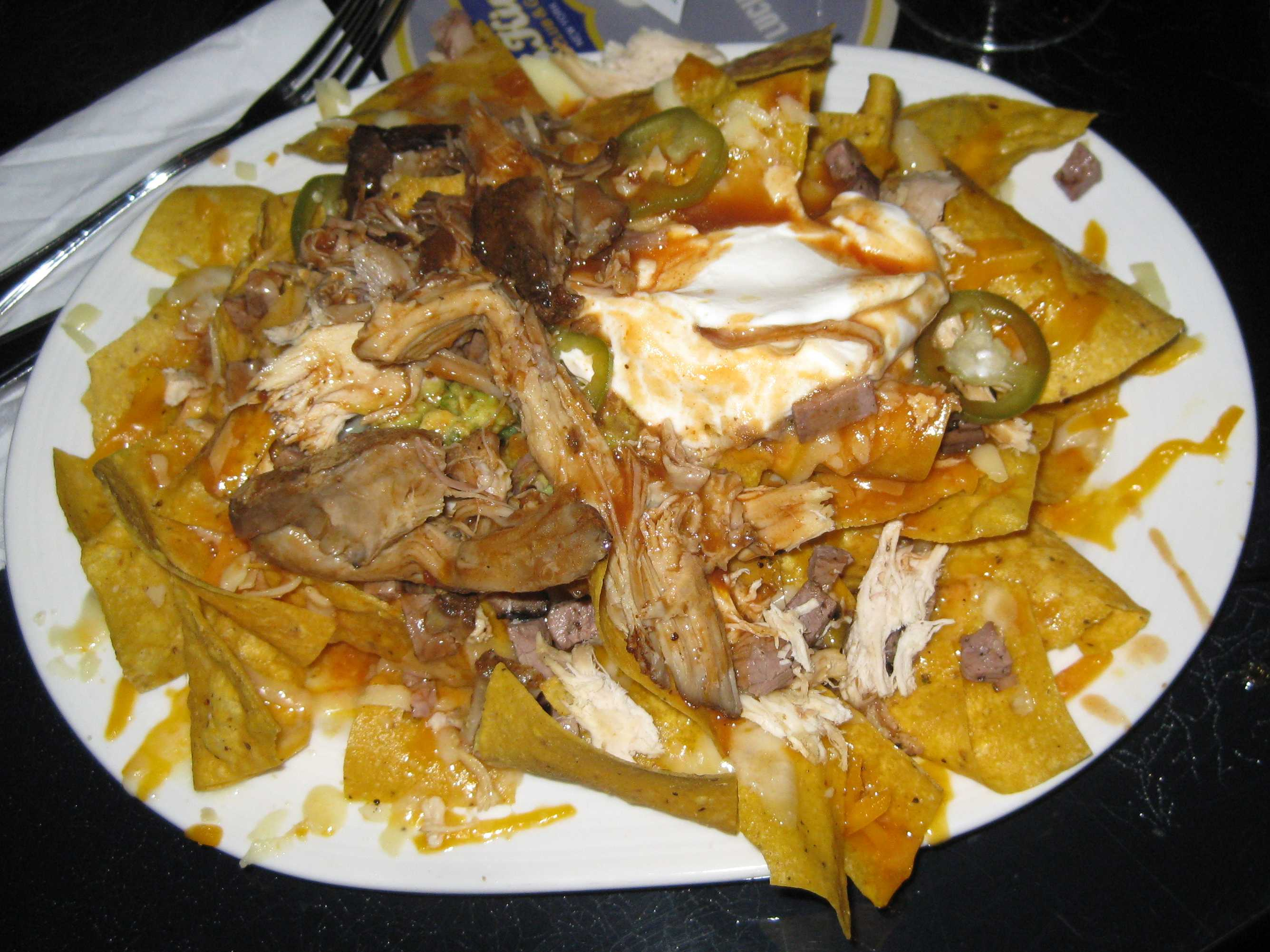Meat Lovers Nachos