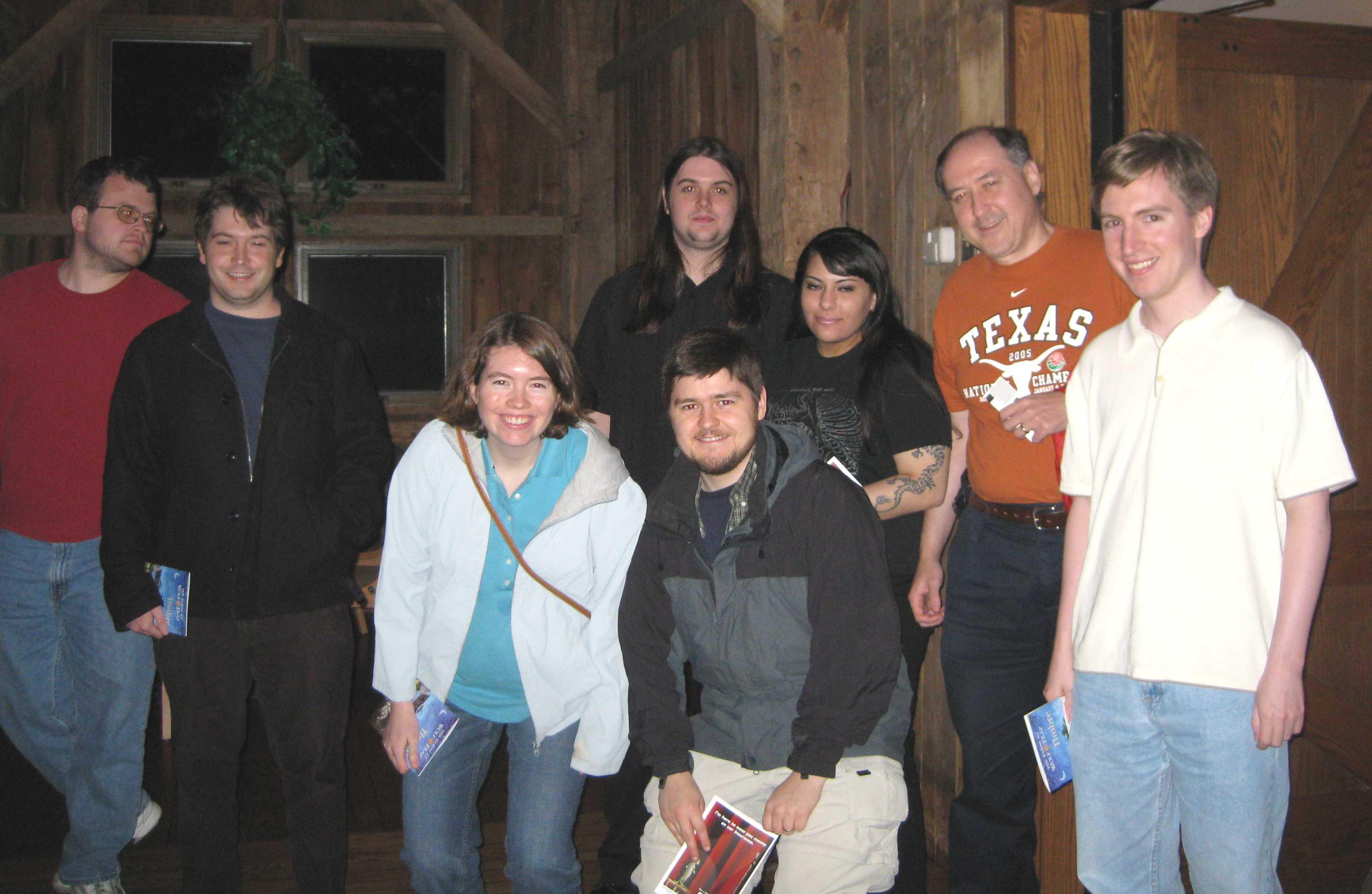 Guests at Barns