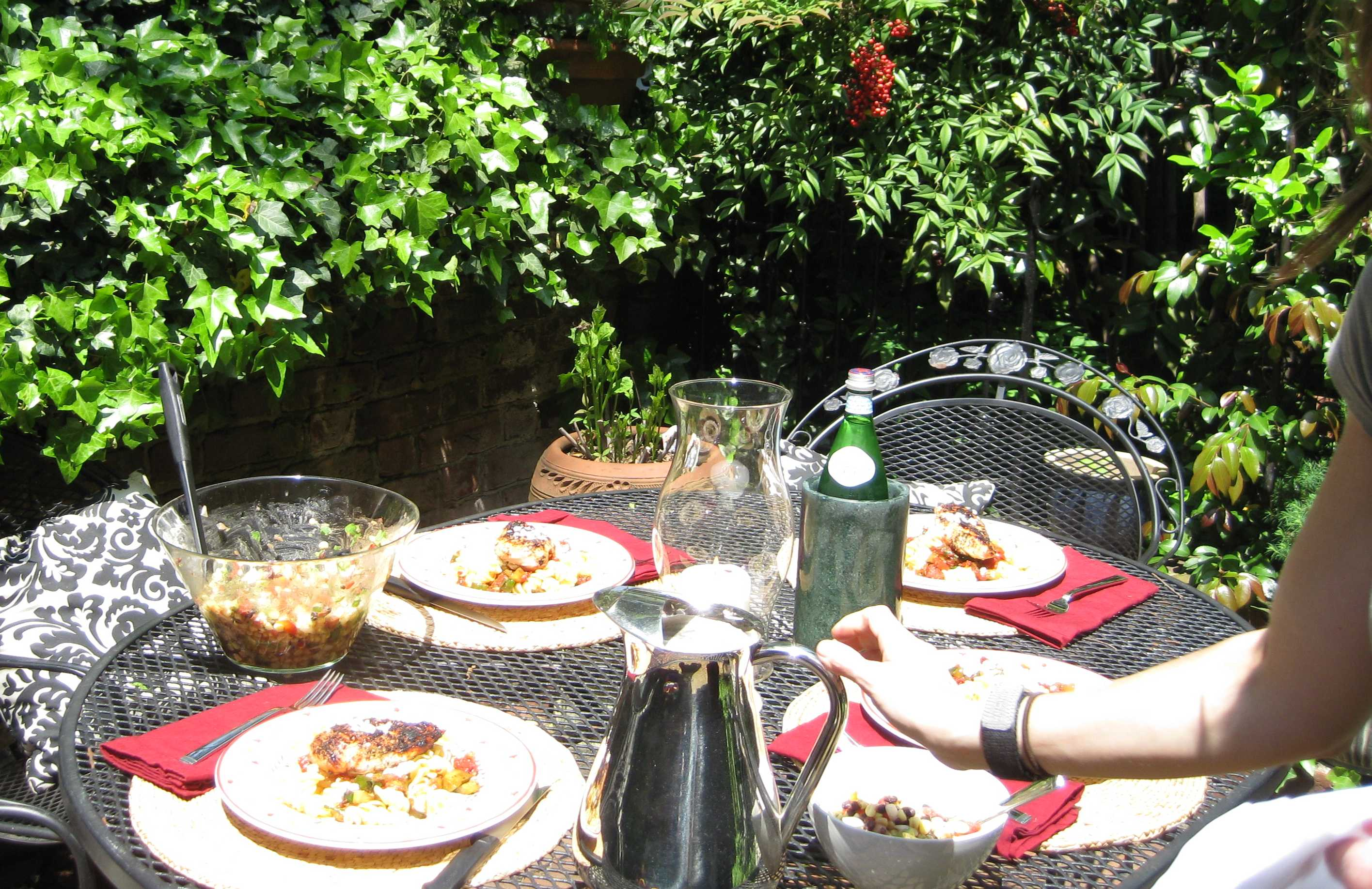 Amazing Outdoor Meal