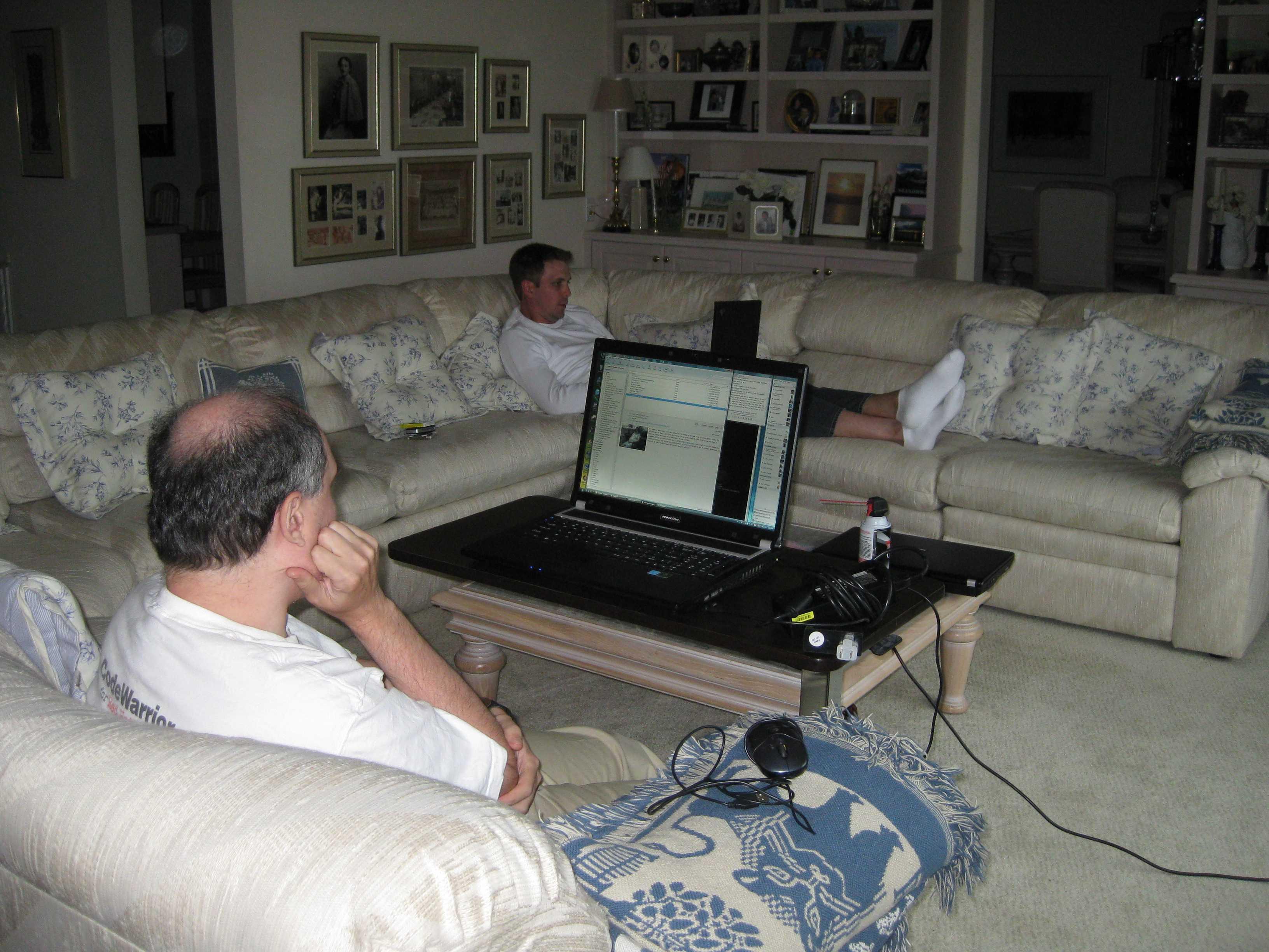 Wes Hadar Living Room