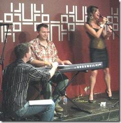 Alex Berger, Amy Rivard and Jason Black