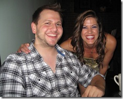 Alex Berger and Amy Rivard