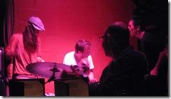 Amber Adam Alex Drumming