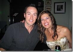 Jason Whitfield and Amy Rivard