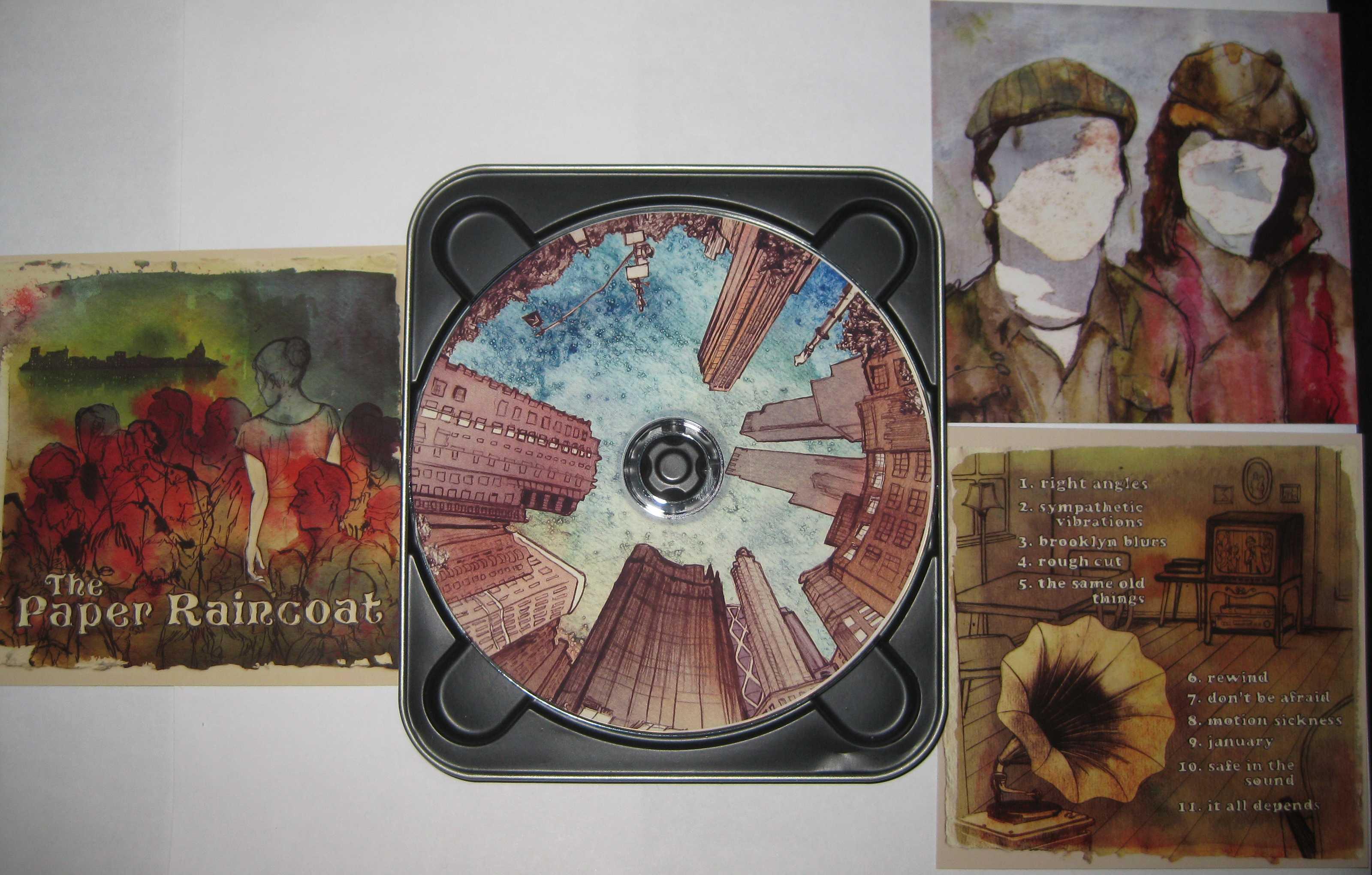 Paper Raincoat CD Package