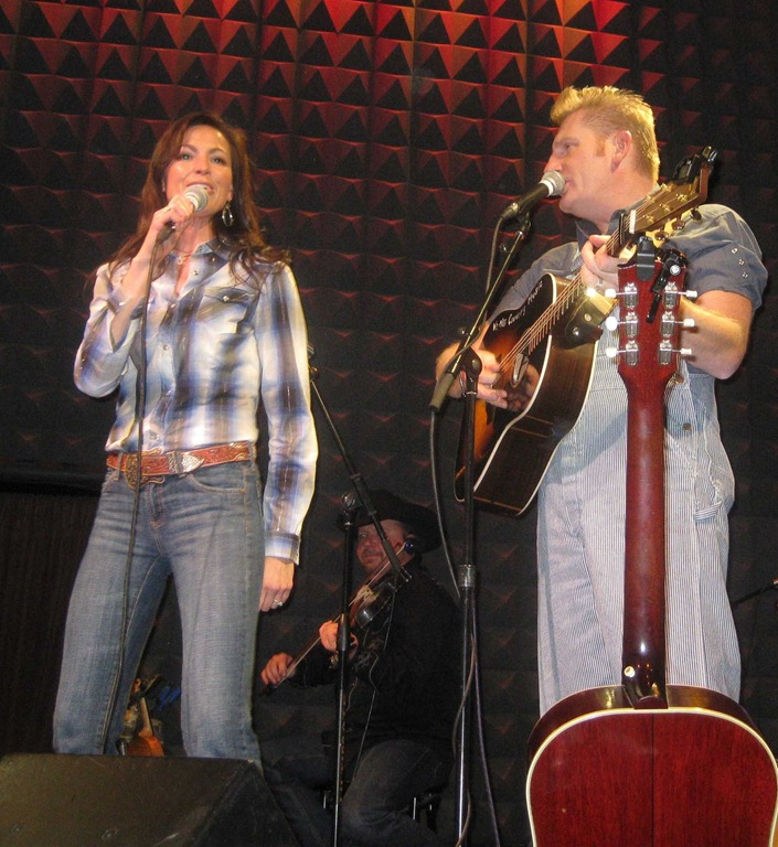 Joey and Rory at Joe\'s Pub | Random Musings